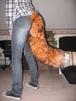 Finished fox tail by SucittarSucivron