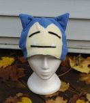 Snorlax Hat by J-R-Creations