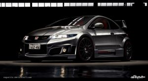 Honda Civic Mugen by Saporita