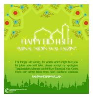 Eid e-card by nammank-rt
