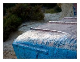 Blue Boat by pf1090