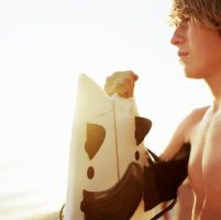 surfer boy by lacrymosagigia