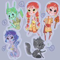 Adopts set 10 - CLOSED by kimasura