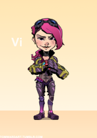 Vi by scribblepit