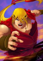 Ken Masters - Alpha (25th Anniversary tribute) by LAI6