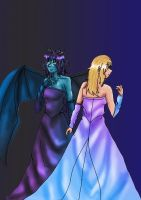 Demon to Human from Dark Hunter OC by superjacqui