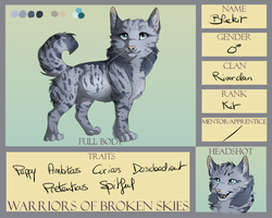 Bluekit - Riverclan [WoBS] by Phoenix-Brul-Plum