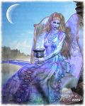 Queen of Cups by vaia