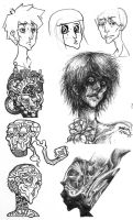 Doodle Collection by TheArtHobo