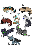 Pups Adopt by SecretsSecret