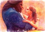 Beauty and the Beast by AuroraWienhold