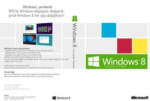Windows 8 Consumer Preview DVD Cover (tr-TR) by Misaki2009
