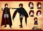 Reference Sheet OC: Alsea by CRUMVIII