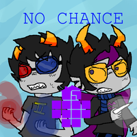 Homestuck: No Chance by sundayfluff