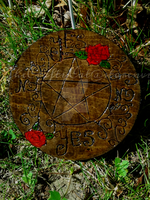 Roses and Vines Yes/No Board by hylian-witch