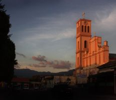 Church Matagalpa by xhippie