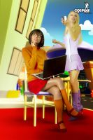 Another Scooby quickie by cosplayerotica