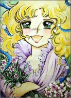 Candy Candy ( manga cover ) by papirous