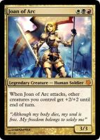Joan of Arc in MtG by Eruner