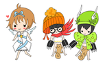 chibis by kaosweets