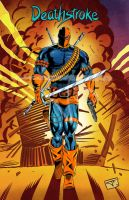 333 Deathstroke by bielero