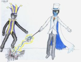 Contest- Battle Dimentio by Dimension-D