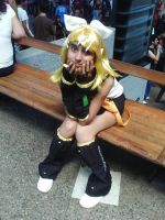 Cosplay4 Rin Kagamine AEX2012 by amyrose7