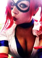 Harley why is your face like that by Ilonas-Sin