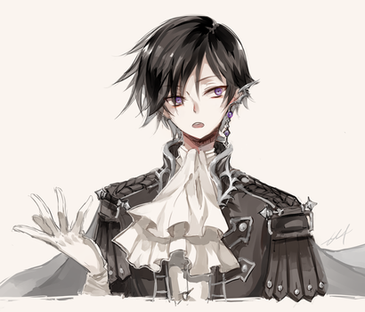 Lelouch by h-yde