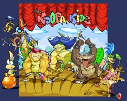 The Koopa Kids by BrendanCorris