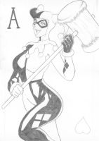 harley quinn 2 by funeralwind