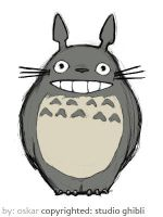 totoro by poif