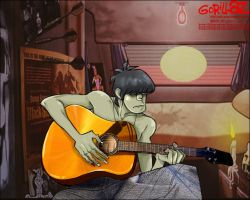 murdoc_gorillaz by youthred