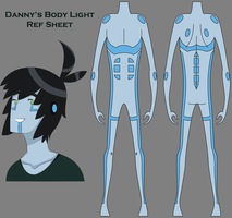 Danny's Body Light Ref Sheet by XombieJunky