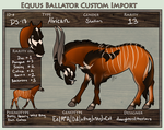 DS-018: Custom Import for EverlastingStables by daughterofthestars