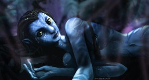Avatar: Na'vi Girl Speedpaint by ghostfire