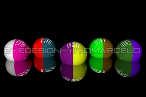SPHERES COLORFUL by yiyo-marcelo