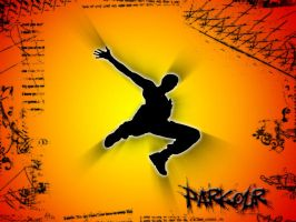 Parkour Wallpaper by Alx1-337