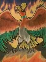 The sacred flames of Ho-oh by shinyrayquaza23