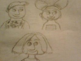 The Croods Characters part 2 by AndressaNerdMuniz