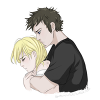 Tobias and Tris by bookaholic5