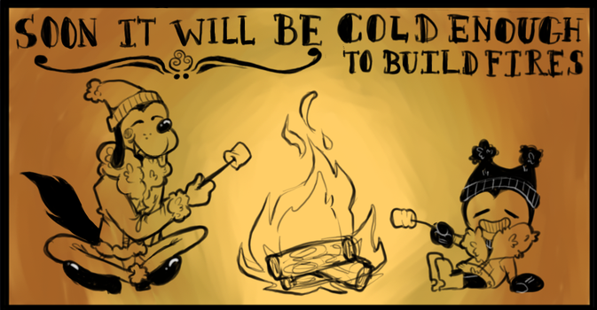 soon it will be cold enough by perrierra
