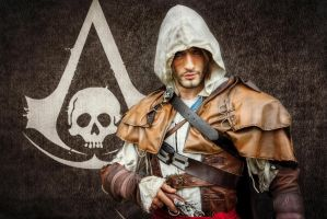 Ready to Synchronize - Edward Kenway Cosplay by LC by LeonChiroCosplayArt