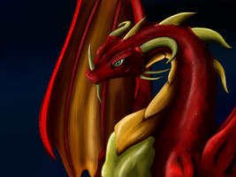 Red Dragon by kristhasirah