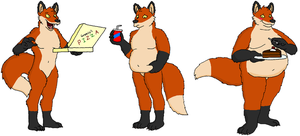 Fox Weight Gain by Panglong1