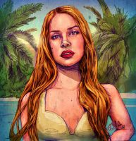 Lana in the Paradise Suite (digital version) by ismaComics