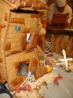Haunted House Detail by eckabeck