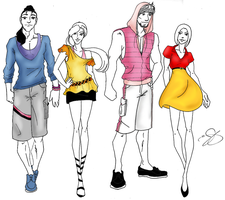 Fashion of the Hundred Acre Wood by HJLyn
