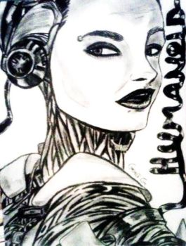 Automatic~ (Bill Kaulitz, charcoal) by GemaG