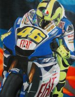Valentino Rossi Istanbul 2007 by LuckyNo4